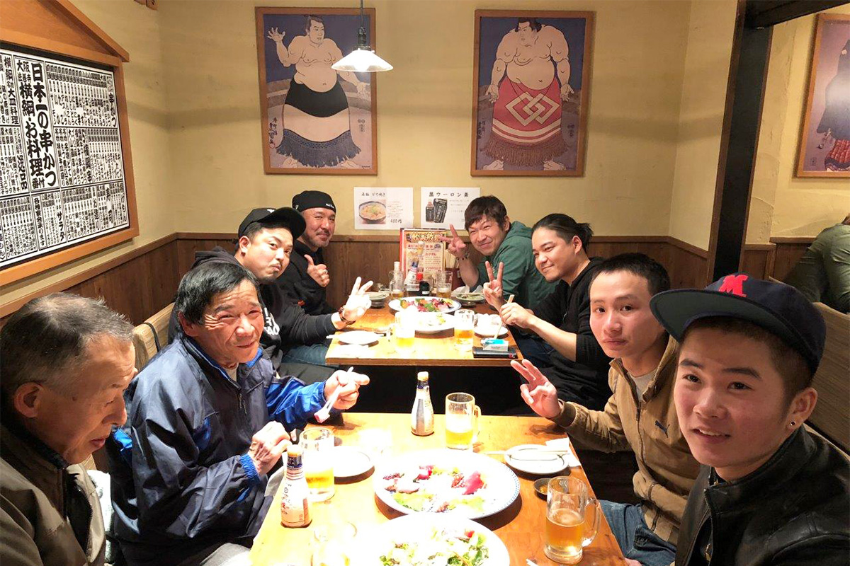 2018年 年度末大阪慰労会